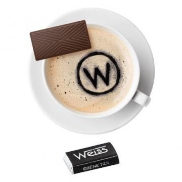 Tasse à café - Napolitain - Chocolat individuel - Chocolat noir - Ebène