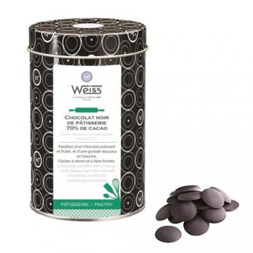Chocolat de Pâtisserie Noir Acarigua 70% - 400g