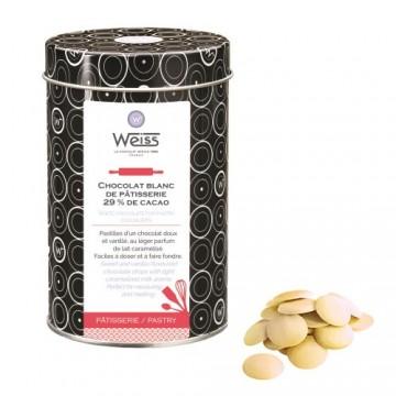 Chocolat de Pâtisserie Blanc Nevea 29% - 400g