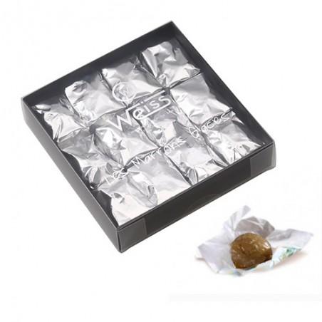 Chocolat de Noël - Marrons glacés - Chocolat d'hiver - chocolat à offrir - Marrons glacés à offrir