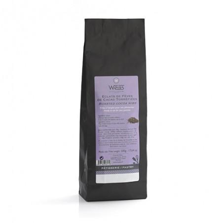Sachet de grué de cacao fermé