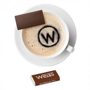 Tasse à café - Napolitain - Chocolat individuel - Chocolat noir - Acarigua