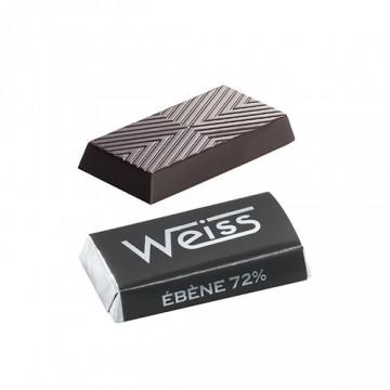 Napolitain - Chocolat individuel - Ebène