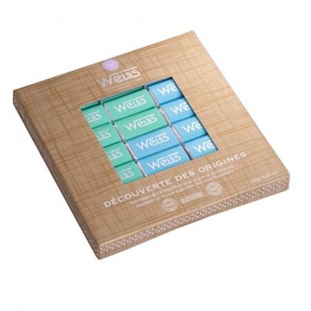 Coffret napolitains noir - Chocolats individuels - Pure Origine