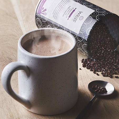 Chocolat chaud - Boîte métal - Granulé brillant - Chocolat gourmand - Chocolat fondu
