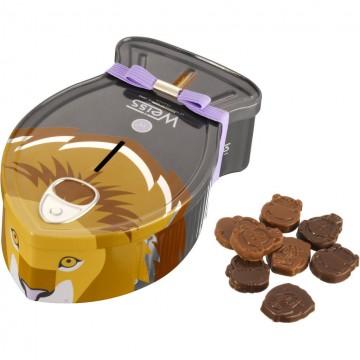 Edmond le lion Safari Family - Chocolat noir 67% - 300 g