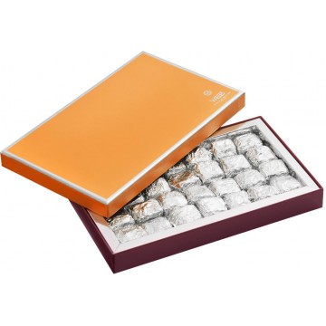 Nougastelles - Coffret ouvert - Coffret cadeau chocolat - Chocolat à offrir