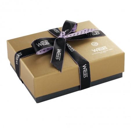 Ballotin de chocolat - Palets Or - Boîte fermée - Coffret cadeau chocolat - Chocolat à offrir