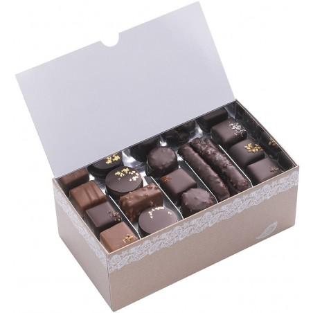 Ballotin Chocolat Passementerie  Weiss