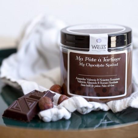 Pâte à tartiner lisse - Pot fermé - Carré de chocolat
