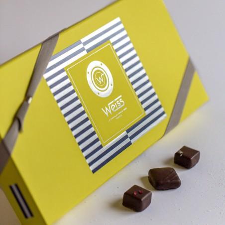 Matelot - Coffret fermé avec assortiment de chocolats - Coffret cadeau chocolat - Chocolat à offrir