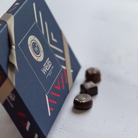 Moussaillon - Coffret fermé avec assortiment de chocolats - Coffret cadeau chocolat - Chocolat à offrir