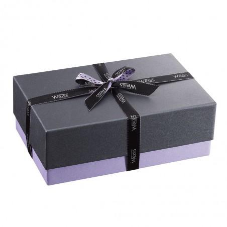 Ballotin de chocolat et praliné - Boîte fermée - Coffret cadeau chocolat - Chocolat à offrir