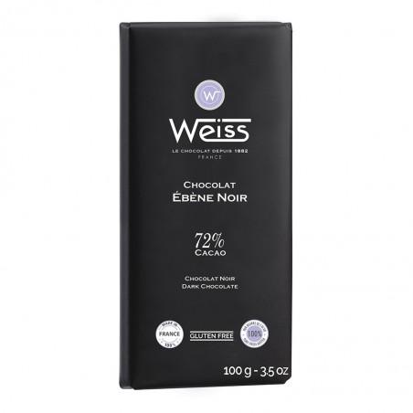 Tablette de chocolat-Chocolat noir-Ebène