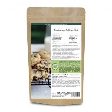 Pépite de chocolat noir à pâtisser - Packaging fermé - Dos - Recette Cookies