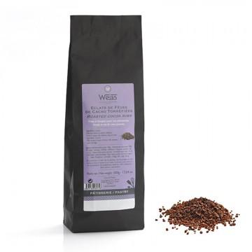 Grué de cacao - Sachet de grué de cacao fermé