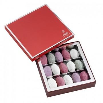 Nougamandines - Coffret chef d'œuvre ouvert - Coffret cadeau chocolat - Chocolat à offrir