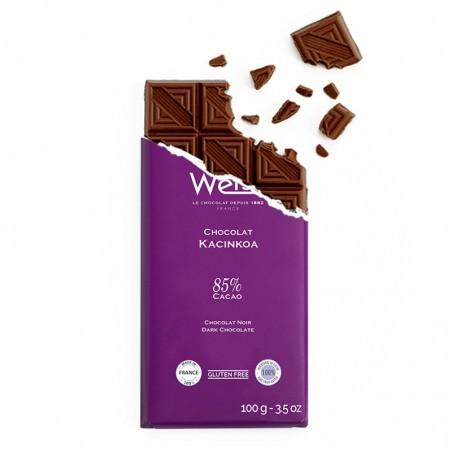 Tablette de chocolat-Chocolat croqué-Chocolat noir-Kacinkoa
