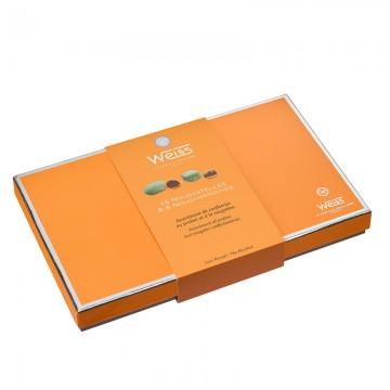 Nougastelles et Nougamandines - Coffret fermé - Coffret cadeau chocolat - Chocolat à offrir