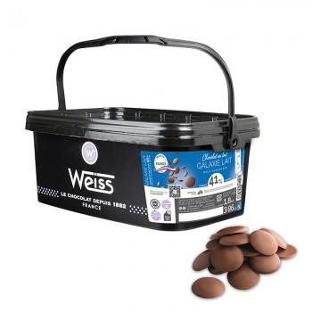 Chocolat de pâtisserie - Lait Galaxie 41% - 1,8kg