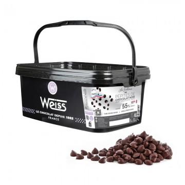 Pépites de chocolat Sublimes Noir 55% - 1,8 KG