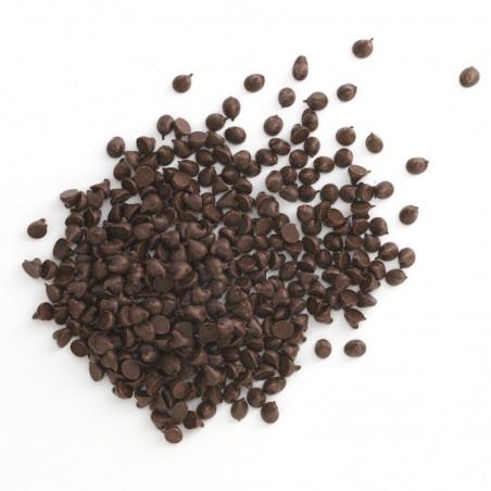 Chocolat à pâtisser - Chocolat noir - Pépites de chocolat noir