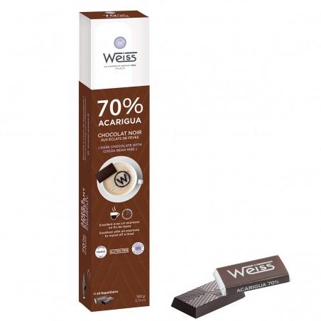 Napolitains - Chocolat individuel - Chocolat noir - Distributeur - Acarigua