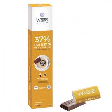 Napolitains - Chocolat individuel - Chocolat au lait - Distributeur - Lait Entier