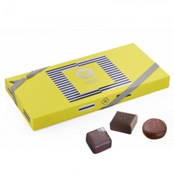 Matelot - Coffret fermé - Coffret cadeau chocolat - Chocolat à offrir - Assortiment de chocolat
