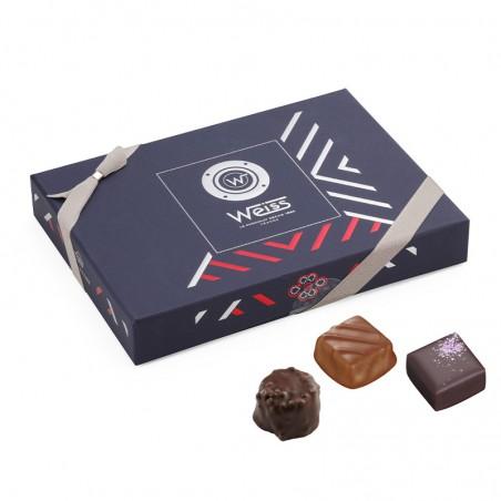 Moussaillon - Coffret fermé - Coffret cadeau chocolat - Chocolat à offrir - Assortiment de chocolat