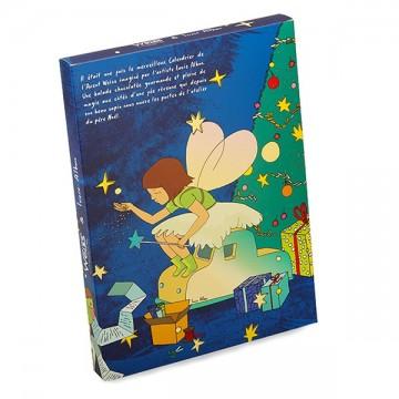 Calendrier de l'avent - chocolat de noël - assortiment de chocolat - Lucie Albon - Illustration - histoire chocolatée