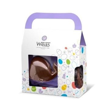 Paulo le Baleineau - Chocolat de Pâques Lait 38% - 190g