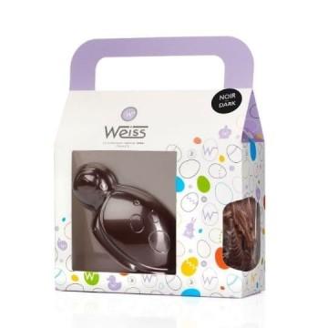 Lulu la Tortue - Chocolat de Pâques noir 67% - 190g