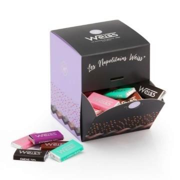 Cube Napolitains - Assortiment Chocolat noir et lait - 495g