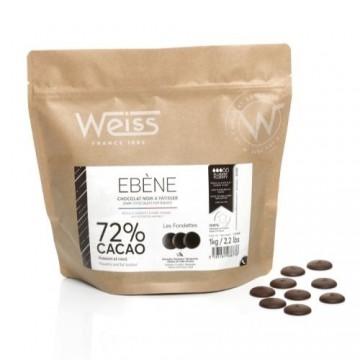 Cooking 1kg - Chocolat noir Ebène
