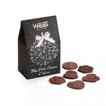 Pochon - Chocolat Bisous de Noël - 200g