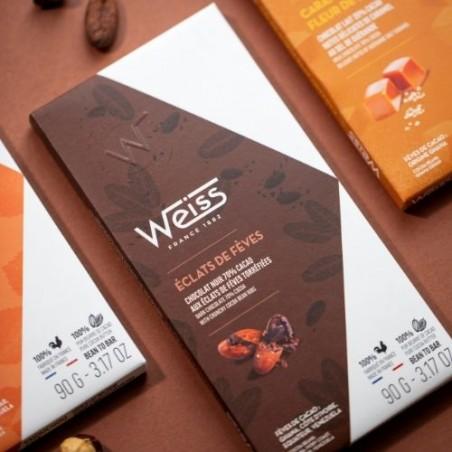 Chocolat noir - Éclats de Fève 70%